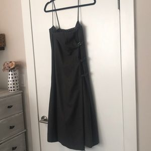 Ralph Lauren wool gray dress